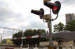 Нарушение правил на переезде Новоалтайск